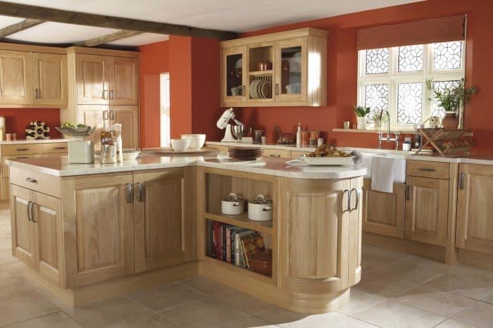 Kinsale Natural Oak - Noble Kitchens