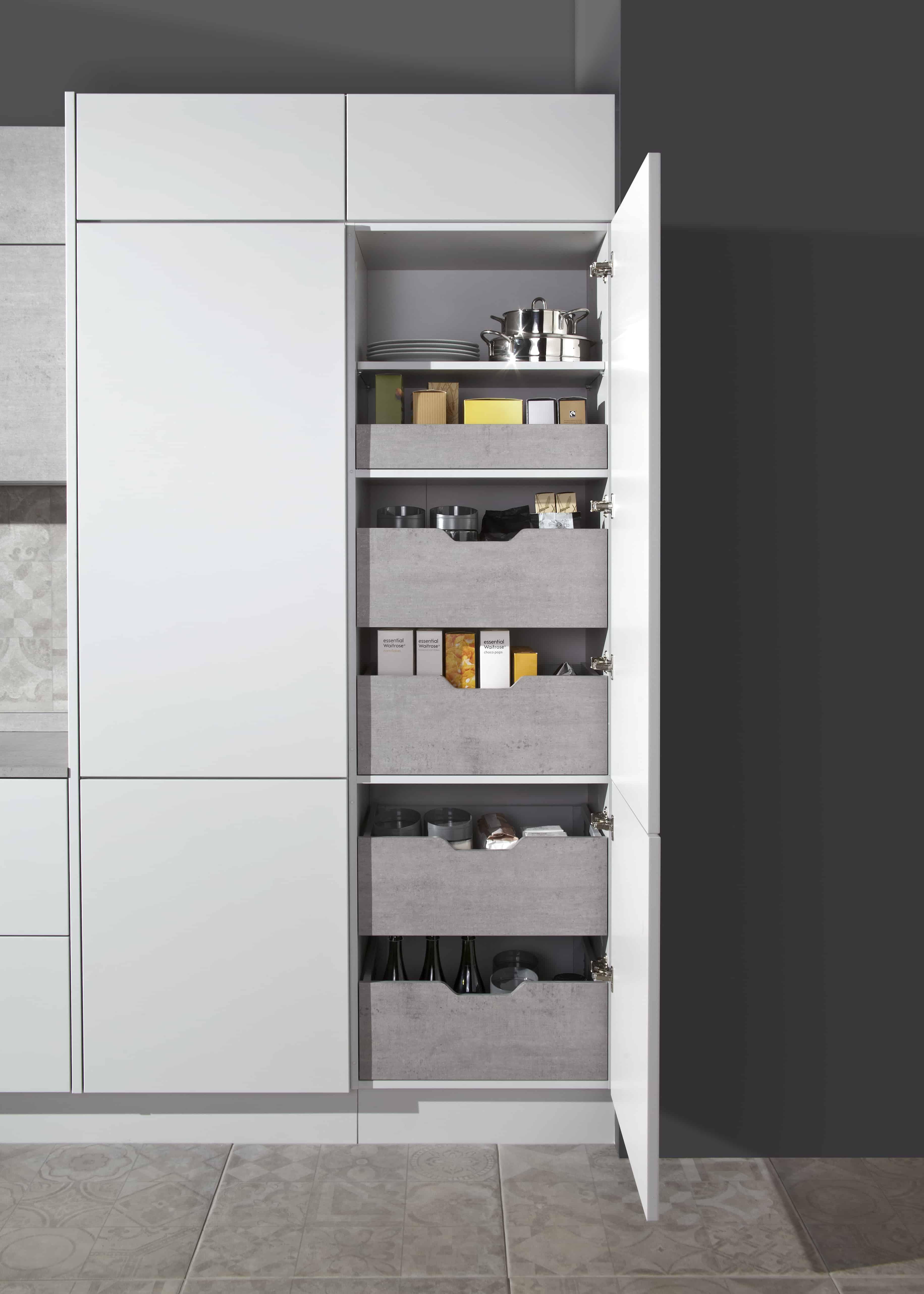 blum space tower noble kitchens. Black Bedroom Furniture Sets. Home Design Ideas