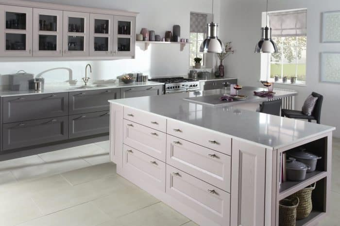 Gresham Painted Kitchen - Noble Kitchens Quality Fitted Kitchens Coventry and Warwickshire, Kitchen Design, Kitchen Showroom Coventry and Warwickshire, Kitchen Supply, Solid Surface Worktops, Appliances