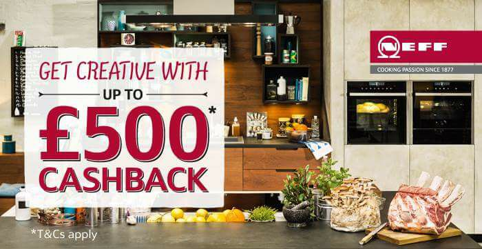 NEFF Cashback Offer - valid April and May 2017 - NEFF Kitchen Appliances - Noble Kitchens
