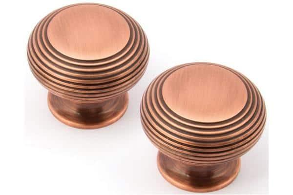 Sarah Beeny Wordsworth Copper Cabinet Door Knob - Noble Kitchens