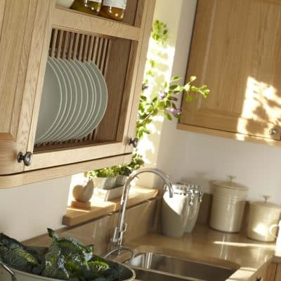 Kemble Natural Oak Kitchen - Noble Kitchens