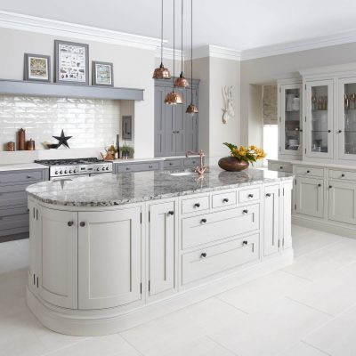 Langton Painted Kitchen in Putty and Mink