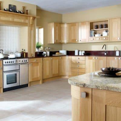 Lansdowne Natural Oak - Noble Kitchens