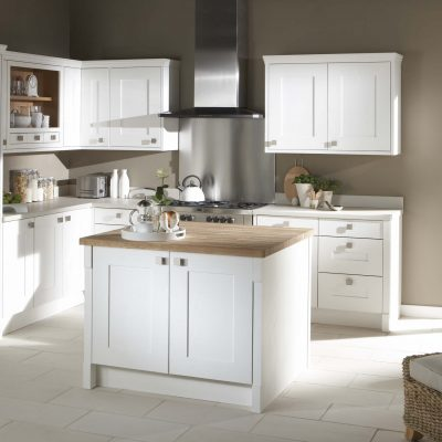 Lansdowne Painted Kitchen in White