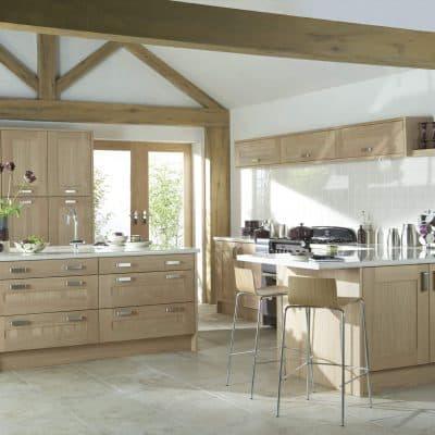 Lansdowne Washed Oak - Noble Kitchens
