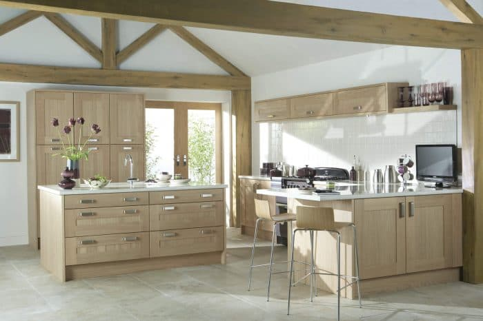 Lansdowne Washed Oak - Noble Kitchens