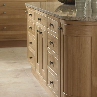 Petworth Timber in Natural Oak - Noble Kitchens