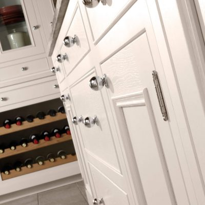 Salcombe Kitchen Painted in Cashmere