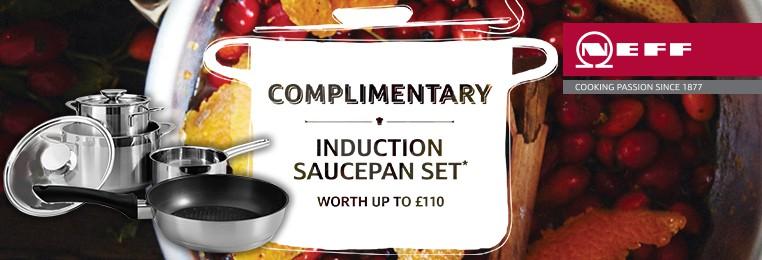 NEFF Induction Saucepan Set - Noble Kitchens - Kitchen Appliances