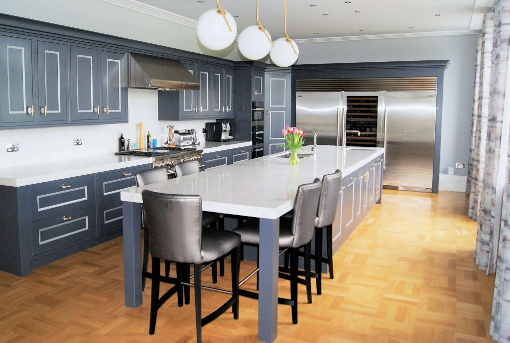 Flint Hall - bespoke kitchen project