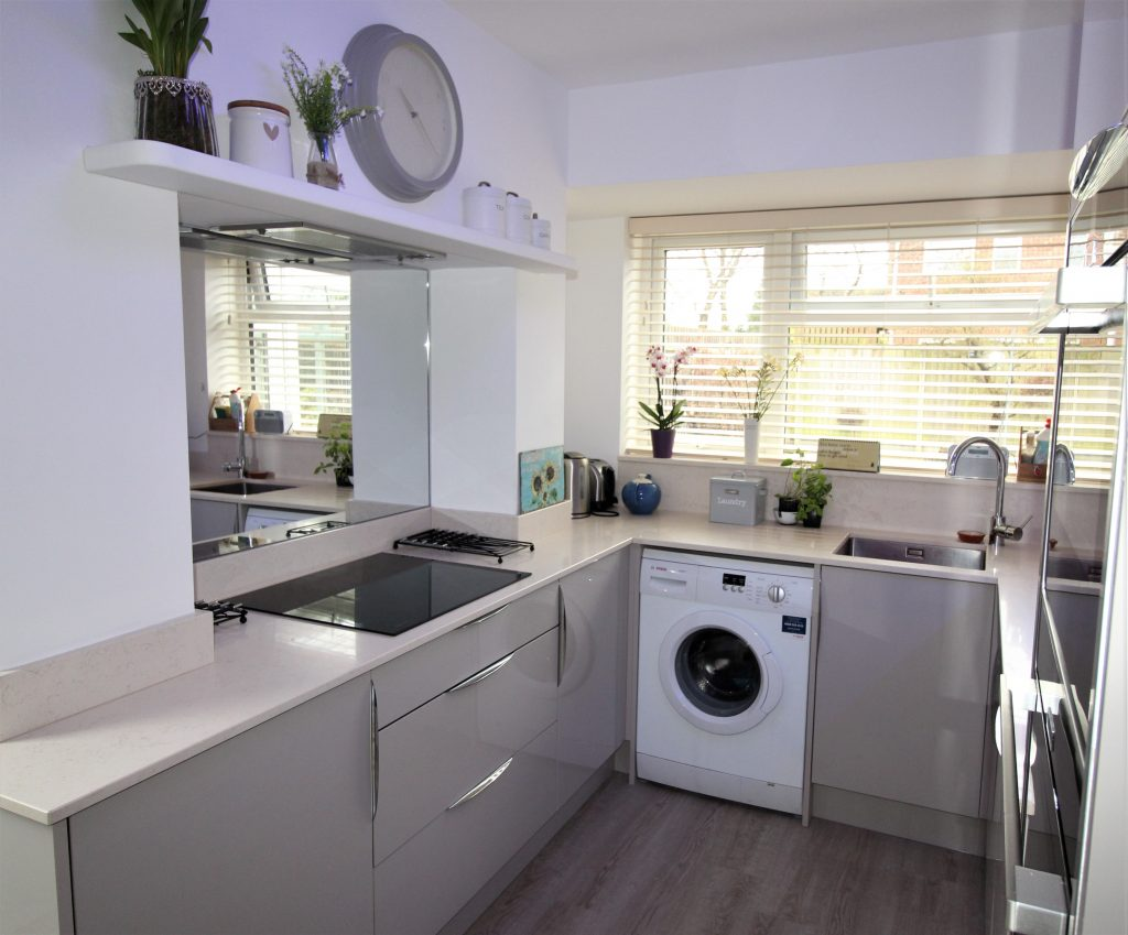 Small Contemporary Kitchen - Noble Kitchens Coventry and Warwickshire