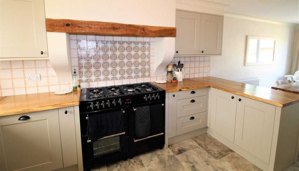 Painted Shaker Kitchen, Napton