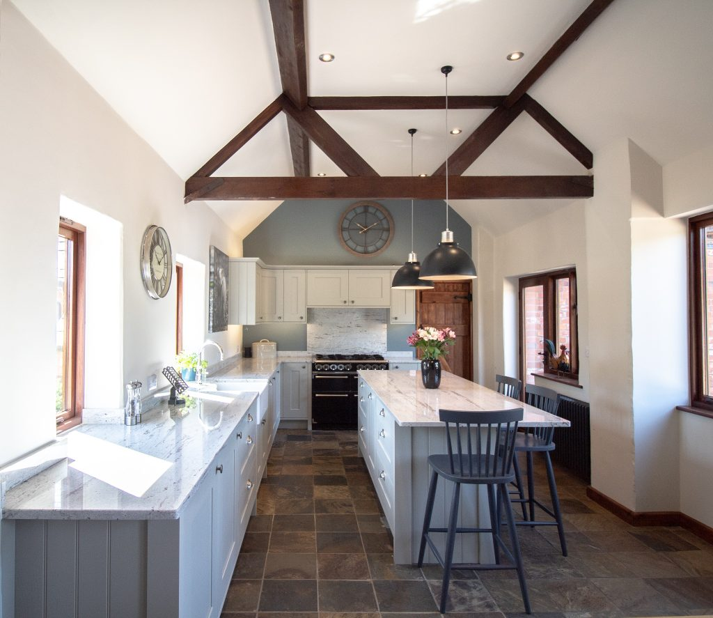 Country Barn Shaker Kitchen, Noble Kitchens, Coventry and Warwickshire