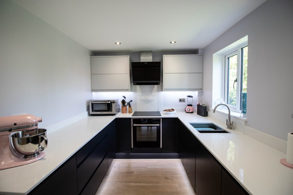 Matt J Pull Kitchen, Supplied and Installed by Noble Kitchens, Coventry and Warwickshire