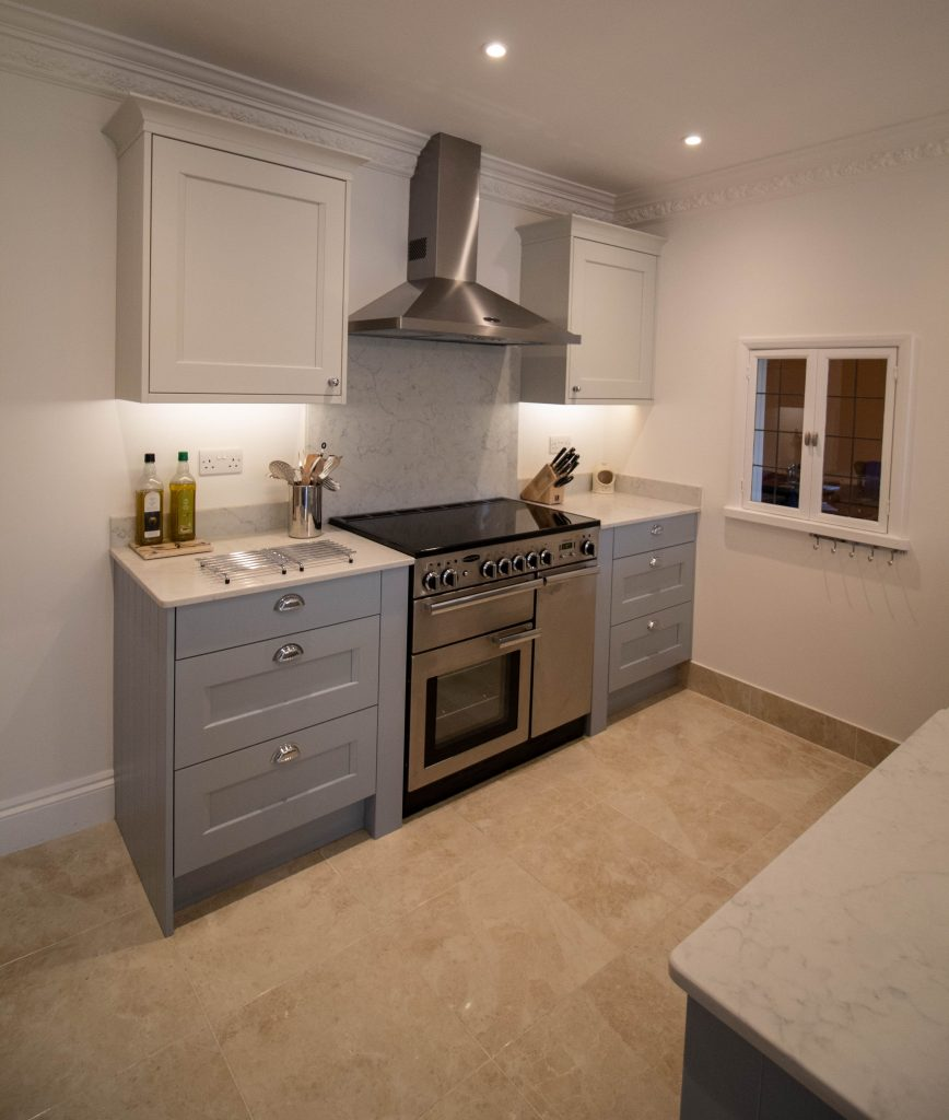 Kew shaker kitchen, Rugby, Noble Kitchens